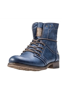 Mustang Womens 1139-610 Blue Boots
