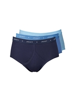 Jockey Y-Front 3 Pack Blue Selection