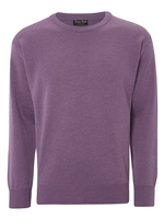 Franco Ponti  Round Neck Lilac Sweater