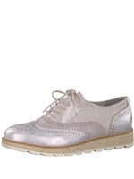S.Oliver Nude Brogue Trainer 23651-20-223