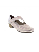 Rieker 41793-90 Ladies Multi Heel Shoe
