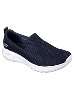 Skechers Ladies GoWalk Joy Navy White Trainer 15600