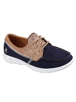 Skechers Ladies GOwalk Lite - Navy Trainer 15430