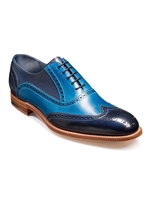 Barker Valiant Blue Navy Shoe