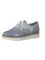 Marco Tozzi Denim Mix Brogue