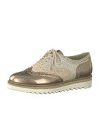 Marco Tozzi Rose Brogue Trainer 23705