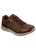 Skechers Mens Relaxed Fit: Elent - Velago Brown Trainer 65406