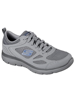 Skechers Mens Summits - South Rim Grey Trainer 52812