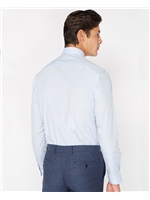 Remus Uomo Tapered Fit Blue Shirt