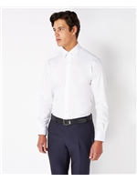 Remus Uomo Tapered Fit White Trim Shirt